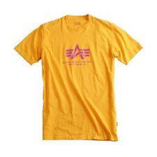 Herren-T-Shirts mit Rundhals-Basic Alpha