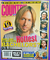 Country Weekly Magazine August 2005 Keith Urban Hottest Bachelors Hank Jr.