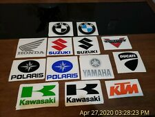 39 Motorcycle Powersports DECALS - WHOLESALE Lot Stickers Decals Yeti Honda BMW