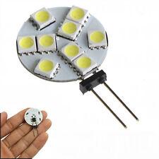 Cool White G4 9 LED 5050 SMD LED Spotlight RV Marine Car Light Bulb Lamp 12V NEW