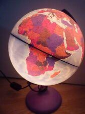 "TECNODIDATTICA 10"" FIRENZE Globe Lampada Luce Vintage Bambini Educativo World"