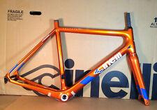 Cinelli Veltrix Disc Columbus Carbon Road Bike Frameset Size L  Orange