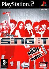 Disney Sing It High School Musical 3 último año (PS2) - Envío Gratis-Vendedor de Reino Unido