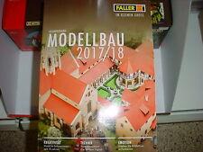 FALLER Gesamt-Katalog 2017 / 2018 NEU + weitere Prospekte