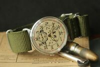 Pobeda China Friendship Mens Vintage Mechanical Watch Russian USSR Retro Watch
