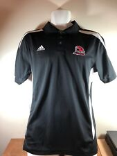 Miami RedHawks Polo Golf Shirt Adidas Size S