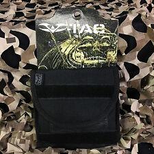 New Valken V-Tac Tactical Molle Vest I.D. Pouch - Tactical Black