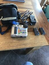 Sony Mavica FD75 Camera W/ Case Camera Strap Disc  2 Batteries & Charger