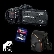 JVC GZ-RX615BEU Everio R, waterproof Full HD Camcorder + 64 GB + Action Black