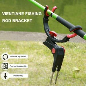 Universal Fishing Rod Fishing Storage Rack Stand Holder Fishing Rod Holder  L6C0
