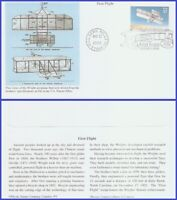 US #3783 U/A MYSTIC FDC   First Flight of the Wright Brosers
