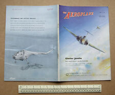 "1953 Magazine ""The Aeroplane""  Supermarine Attacker 3-Page Gatefold Cut-away"
