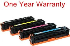 4pk non-OEM black&color ink toner cartridge for HP pro CP1025nw laserjet printer