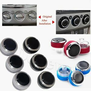 FORD TRANSIT CUSTOM M-SPORT HEATER AIR CON CONTROL KNOBS UPGRADE 4 COLOUR OPTION