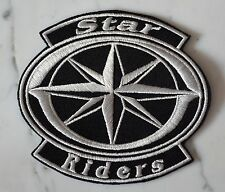 STAR RIDERS PATCH Aufnäher Parche brodé toppa ROYAL DRAG MIDNIGHT ROAD yamaha