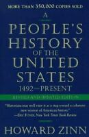 A PEOPLE'S HISTORY OF THE UNITED STATES by Howard Zinn FREE SHIP paperback book