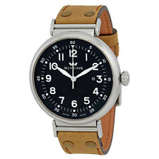 Glycine F104 Black Dial Automatic Mens Watch 3932.19AT.LBR7