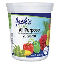 Jacks Classic All Purpose 20 20 20 fertilizer plant food 1.5lb