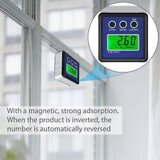 Digital LCD Winkelmesser Messgerät Neigungsmesser Gradmesser Wasserwaage Magnet