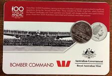 2016 Westpac RAM 20 cent coin - Bomber Command