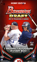 2014 BOWMAN DRAFT PICKS & PROSPECTS HOBBY BASEBALL - 12 BOX CASE