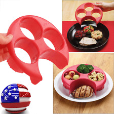 Meal Measure Portion Control Cooking Tools with Kitchen Food Plate US Stock