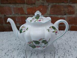 Rare Shelley dainty Fuchsia teapot