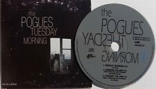 POGUES CD Tuesday Morning + JOE STRUMMER Live AUSTRALIAN Card Sleeve London Call