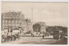 Dorset postcard - Bournemouth, The Square & Commercial Road