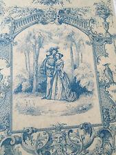 Boîte en Carton Romantique Début XIX Antique French Box