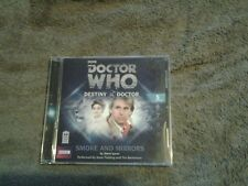 Dr who destiny of the doctor  smoke and  mirrors  audiobook  cd