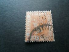 Malaya/Straits Settlements QV  1891 Used 32c Stamp as per pictures