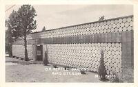 South Dakota SD Real Photo RPPC Postcard c1950 RAPID CITY B.H. REPTILE GARDENS