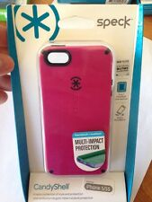 New Speck Candy Shell Berry Black Cover Case Hardshell For Iphone 5 / 5S