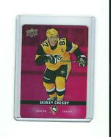 SIDNEY CROSBY pittsburgh penguins UPPER DECK die-cut card insert # DC-27