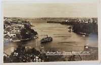 .EARLY 1900'S REAL PHOTO POSTCARD MOSMAN BAY, SYDNEY