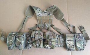 MTP / Multicam / BTP 8 Osprey Pouch PLCE Webbing Belt Kit Molle Belt Yoke