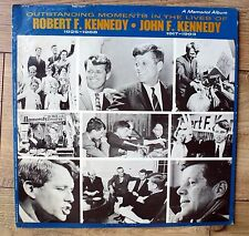 vinyl 33 tours - LIVES OF ROBERT F. KENNEDY - JOHN F. KENNEDY