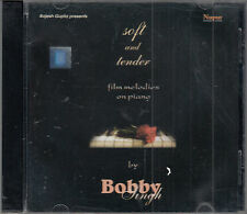 Bobby Singh  Soft And Tender Film Melodies on Piano CD FASTPOST