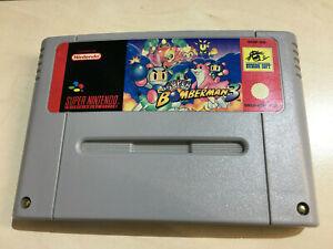 SUPER BOMBERMAN for the Nintendo SNES cartridge only