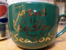 """JESUS is the Reason for the Season"", Ceramic Coffee Cup / Mug, Vintage"