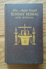 1966 CATHOLIC ~ NEW....SAINT JOSEPH SUNDAY MISSAL & HYMNAL
