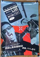 U2 'Elevation' Original Promo Poster 71cm x 51cm 2001