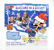 Blizzard in a Bucket - Snow Magic! Looks like real snow