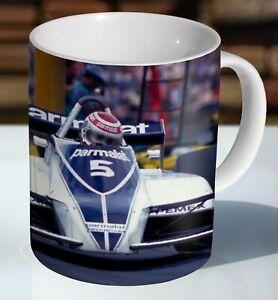 Nelson Piquet Brabham Ceramic Coffee Mug - Cup