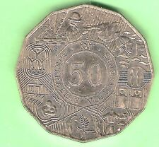 2003  AUSTRALIAN VOLUNTEERS  CIRCULATED 50 CENT COIN