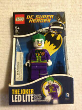 LEGO, THE JOKER DC SUPER HEROES, LED LITE KEYCHAIN, NEW FREE SHIPPING