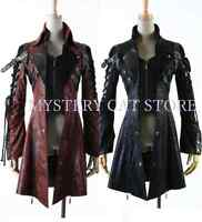 New PUNK RAVE Gothic Vampire Heavy Metal Jacket Coat Y349 ALL STOCK IN AUSTRALIA