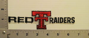 1970's / 1980's TEXAS TECH RED RAIDERS VINTAGE PATCH