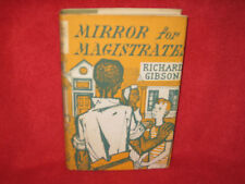 MIRROR for MAGISTRATES ~ Richard Gibson. 1st HbDj   RARE..  Two kinds moralities